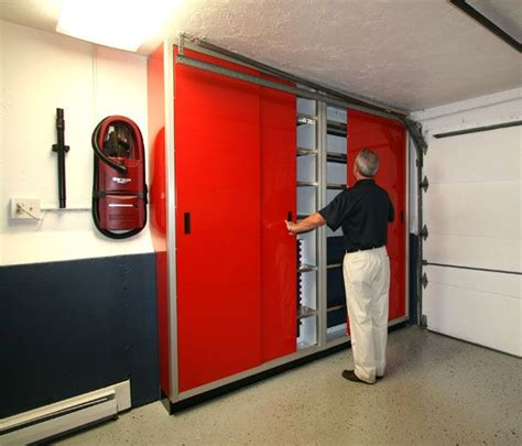 garage sliding door storage cabinet pin by rocketfin hobbies on ultimate garage workshops