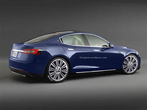News On Tesla Motors New Tesla Model E Rendering Autoevolution