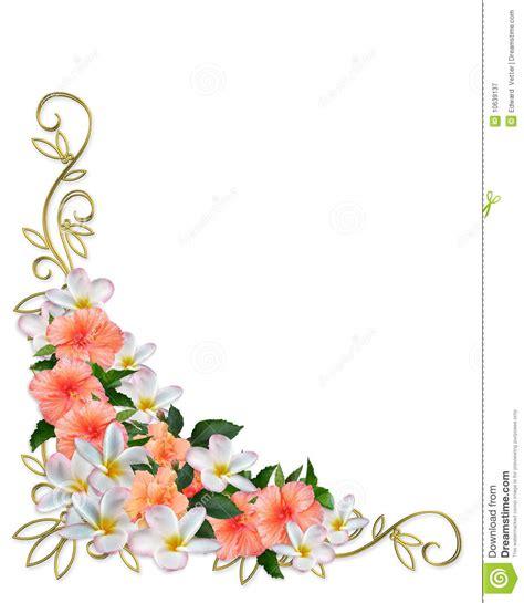 La Rosa Realty Cards Templates by Disegno Tropicale Dell Angolo Dei Fiori Illustrazione Di