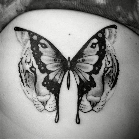 tiger butterfly tattoo collection of 25 flowers and butterfly tiger tattoos