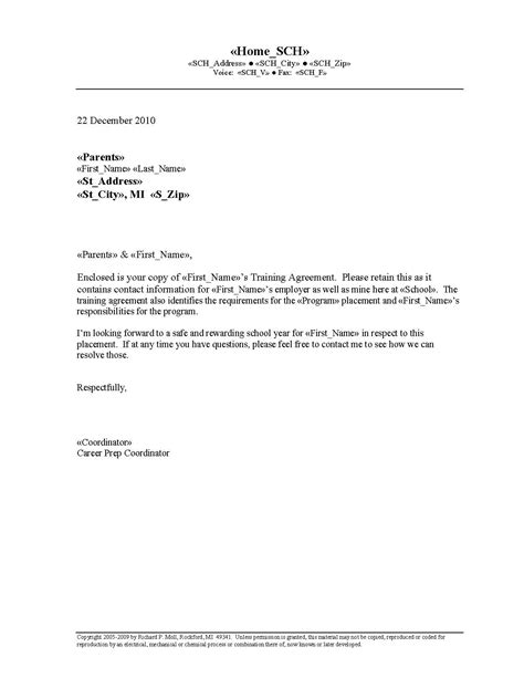 printable sample letter agreement form legal forms