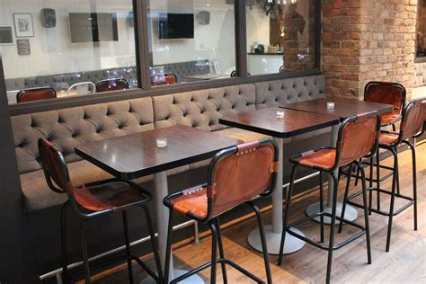 banquette seating and table great banquette seating set with brown tufted high