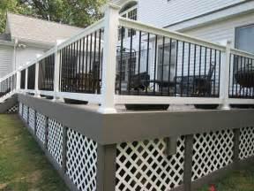 deck s deck railings st louis decks screened porches