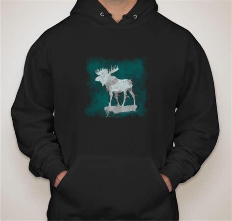 Hoodie In The Wish moose a wish hoodie custom ink fundraising