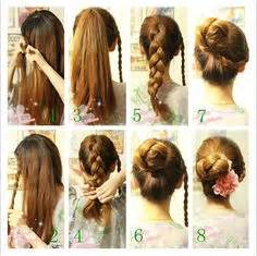 cool step by step hairstyles how make to hair style step by step with pictures search