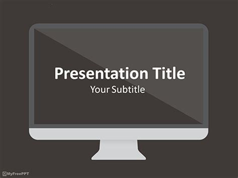 tv powerpoint template free business powerpoint templates themes ppt