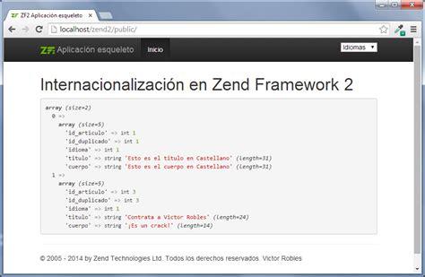 zend framework 2 layout footer internacionalizaci 243 n en zend framework 2 victor robles