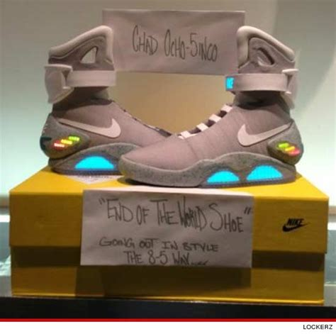 10000 dollar shoes chad johnson i dropped 8 000 on marty mcfly shoes