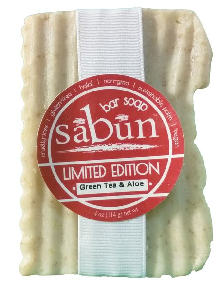 Organic Soap Sabun Organik Vegan sabun limited edition green tea and aloe bar soap vegan halal soap company