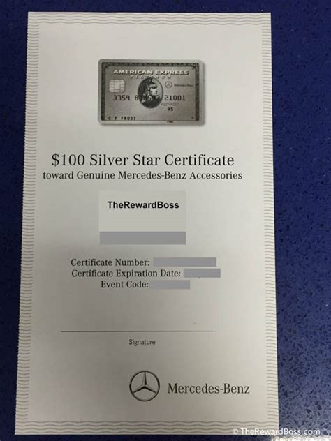 mercedes gifts 100 mercedes gift certificate amex platinum best