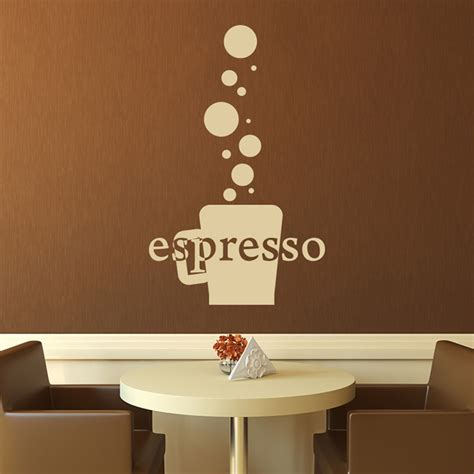 coffee wall stickers the coffee shop wall sticker coffee wall
