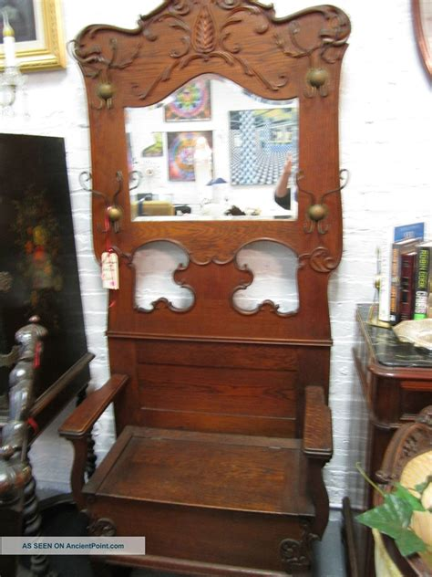 small hall tree bench hallway bench with mirror excellent hallway entry table