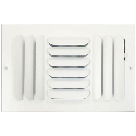 speedi grille 6 in x 10 in ceiling or wall register with