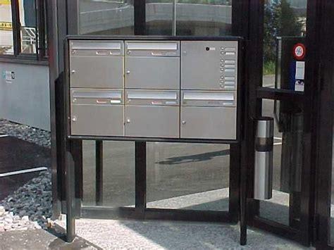 Schweiz Briefkasten E Feldmann Ag Briefkastenanlagen Briefkasten Renz Briefkasten Briefk 228 Sten