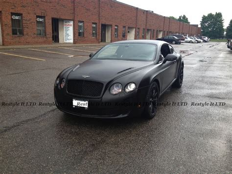 bentley supersport black satin black bentley continental gt supersport vehicle