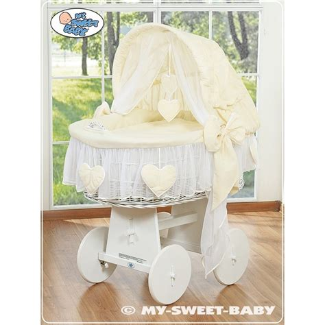 drapes for moses basket moses basket with drapes kidsmill rattan babykorb cm