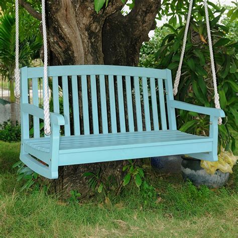 porch patio swing international caravan chelsea 4 wooden red porch swing