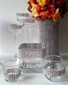 Decorated Vases For Wedding by 17 Best Ideas About Bling Wedding Decorations On