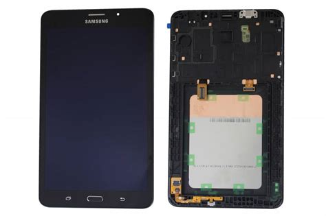 samsung t285 galaxy tab a 7 0 2016 4g wifi lcd display module black gh97 18756a parts4gsm