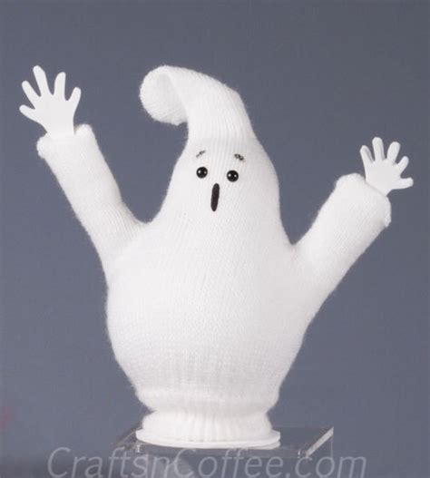 ghost craft for glove ghostie family crafts