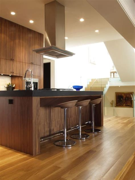 Modern Walnut Kitchen Cabinets White Oak Floor Walnut Cabinets Home Design Ideas Pictures Remodel And Decor