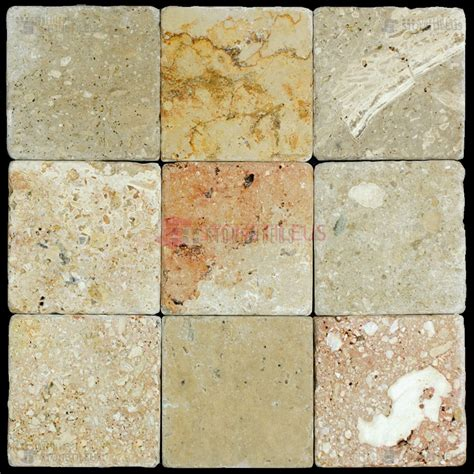 toscana tumbled travertine mosaic tiles 4x4 stone tile us