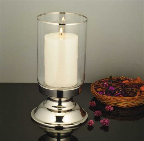 Plain Glass Candle Holders by Dinner Candle Holder With Plain Glass Alamode