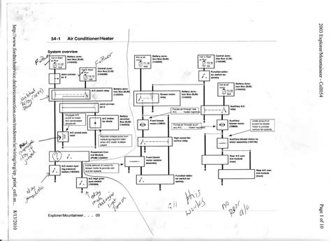 ford focus se air conditioning diagram wiring diagrams