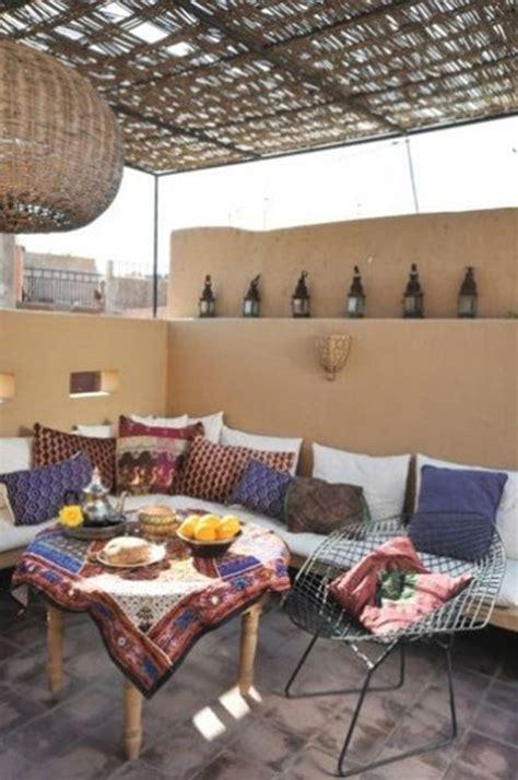 moroccan patio ideas