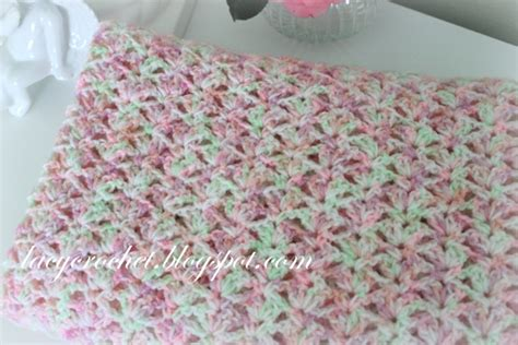 pattern not only but also lacy crochet tiny tulips baby blanket free crochet pattern