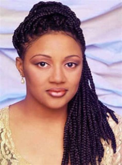large braided hair styles big braids hairstyles for black women