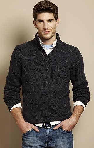 pattern shirt under sweater button up mockneck sweater gentleman should wear this