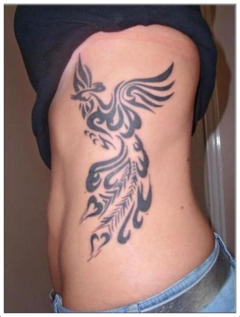 tribal tattoos on ribs best places on the to get tattoos for