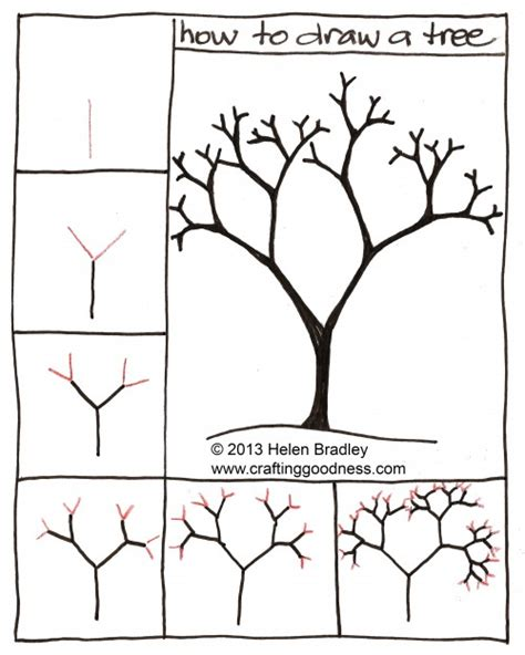 how to draw a doodle tree trees how to draw