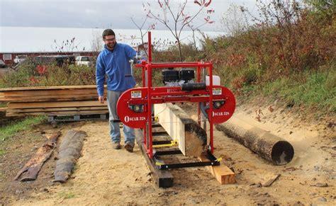 Scie A Ruban 328 by 2015 Portable Sawmill Oscar 328 Bandmill Band Mill Saw