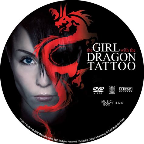 girl with the dragon tattoo 2009 the with the 2009 cd1 custom dvd