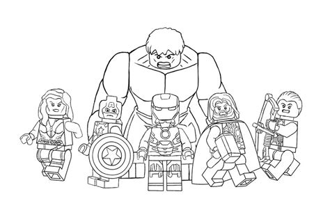 Free Printable Lego Colouring Pagesll