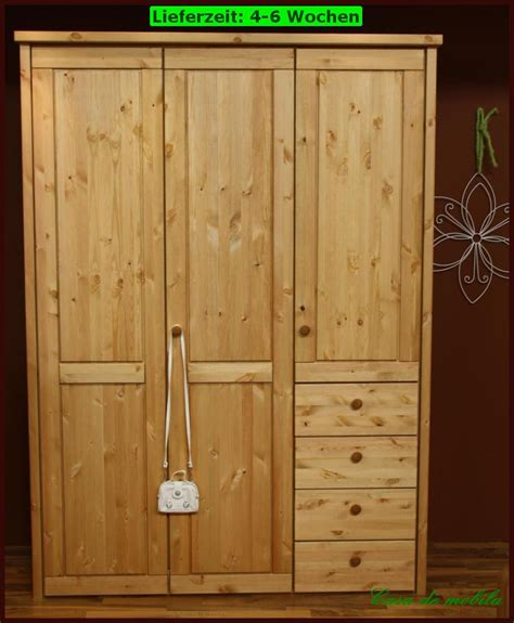 kiefer kleiderschrank massivholz kleiderschrank kiefer gelaugt ge 246 lt