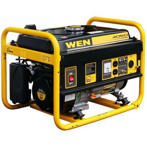 wen 4050 watt gasoline powered portable generator carb