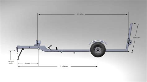 Design Is One Trailer | stingertrailer com stinger folding motorcycle trailers