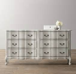 marais wide dresser antique gray mist traditional