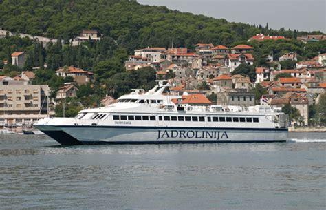 ferry zadar to split jadrolinija lines italy to croatia ferries to dubrovnik