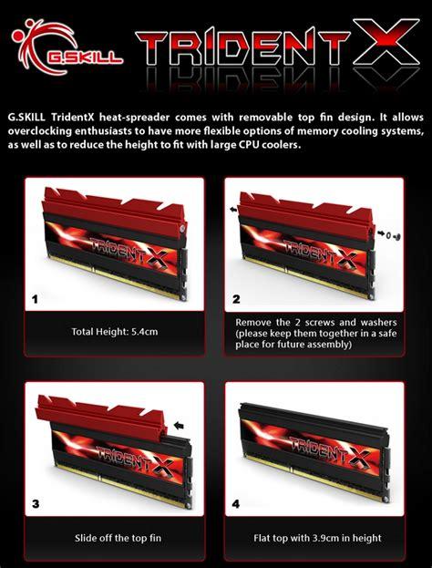 Memory Maestro 8gb vendo memoria g skill trident x 2x4 8gb ddr3 2400mhz