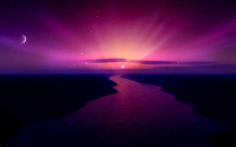 morning purple sunrise wallpapers hd wallpapers id
