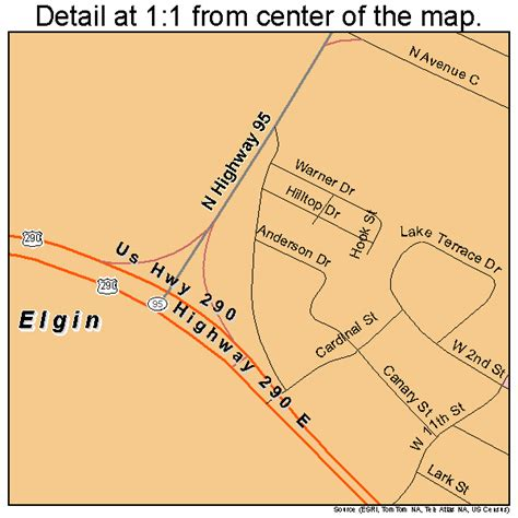 elgin texas map elgin texas map 4823044