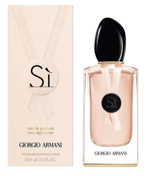 Parfum De Roses si signature ii eau de parfum giorgio armani perfume