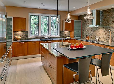 transitional kitchen lighting modern home house design