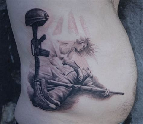 fallen soldier tattoo design army tattoos and designs page 113