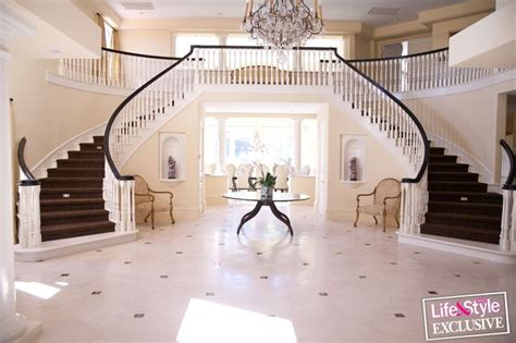 Kris Jenner Foyer by It Would Be Ideal If I Could A Staircase