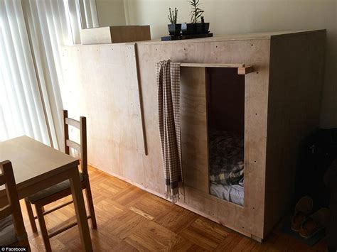 one bedroom apartments in san francisco for rent inside the eight foot bedroom pod built in a san
